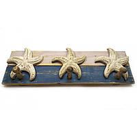 "Вешалка ""Морские звезды"" (39х13х7 см) ( 32163)"