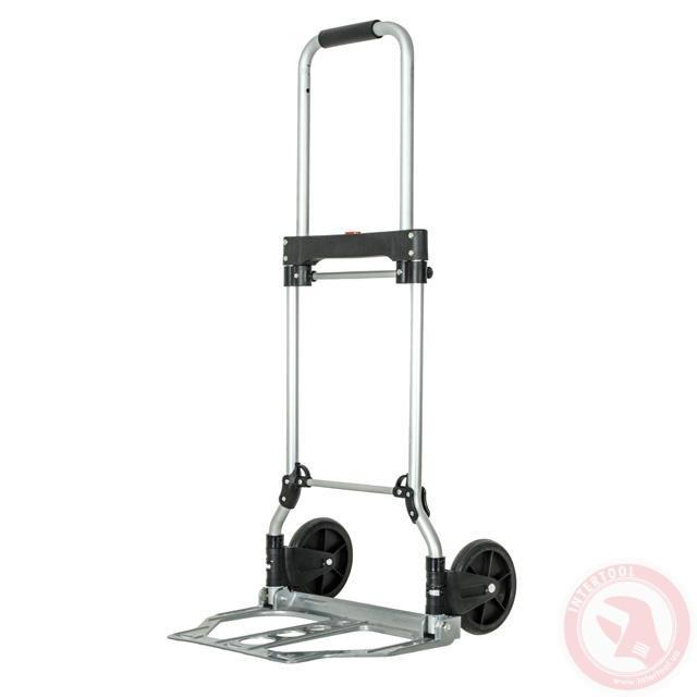 Тележка ручная складная до 60 кг, 450*420*960, колеса 150 мм, (алюминиевая) INTERTOOL LT-9005