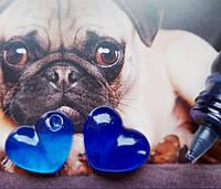 Краситель синий сапфировый пигментированный Марбо Marbo (Италия) для смол, 15 г, фото 1