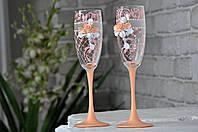 Свадебные бокалы  №1567