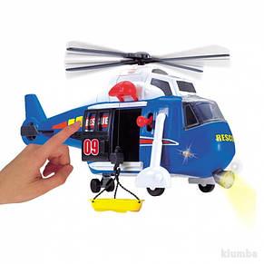 Вертолет интерактивный Speed Champs Dickie 3308356, фото 3