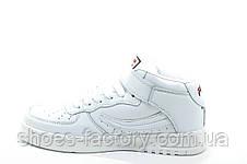 Белые кроссовки в стиле Fila FX100 Mid, Женские, фото 3