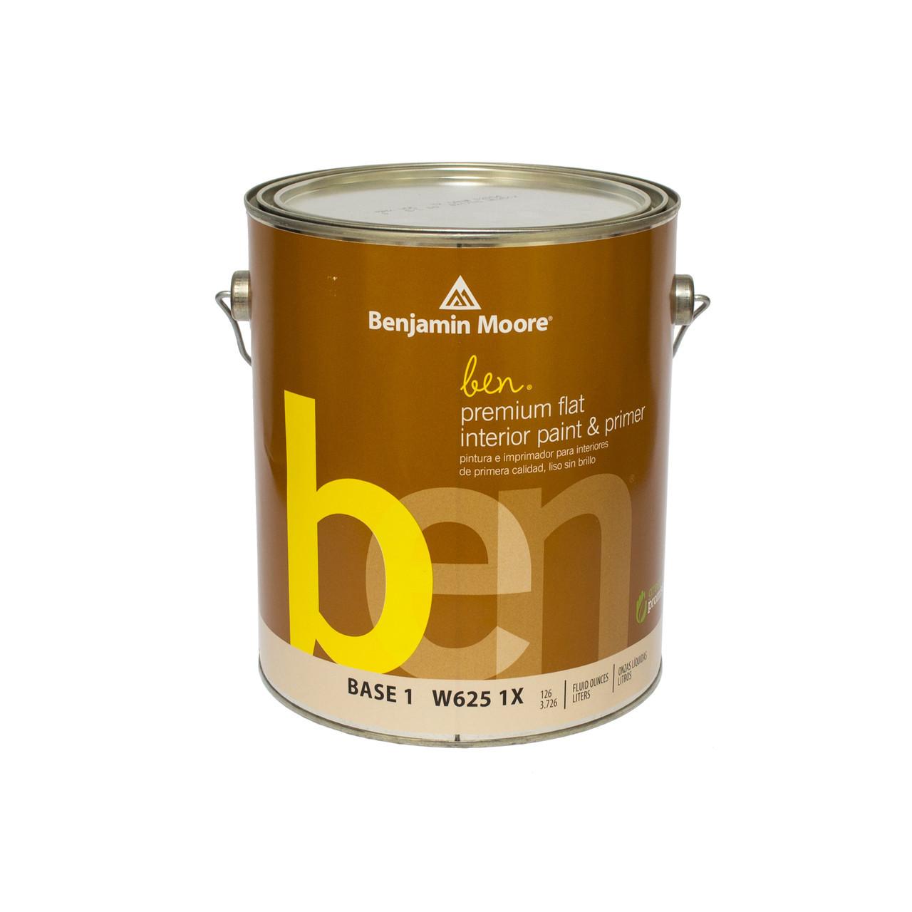 Краска интерьерная  Benjamin Moore BEN interior Waterborne Flat Paint (625) 0,95л