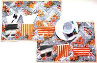 Салфетки текстиль Паровозик ( набор 2 шт )