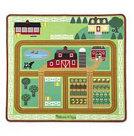 """Игровой коврик с животными """"Ферма"""" (Round the Barnyard Farm Rug) ТМ Melissa & Doug MD19425, фото 1"""