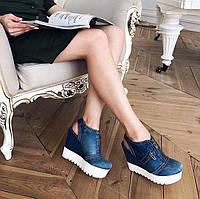 Джинсовые сандалии Marcella , фото 1
