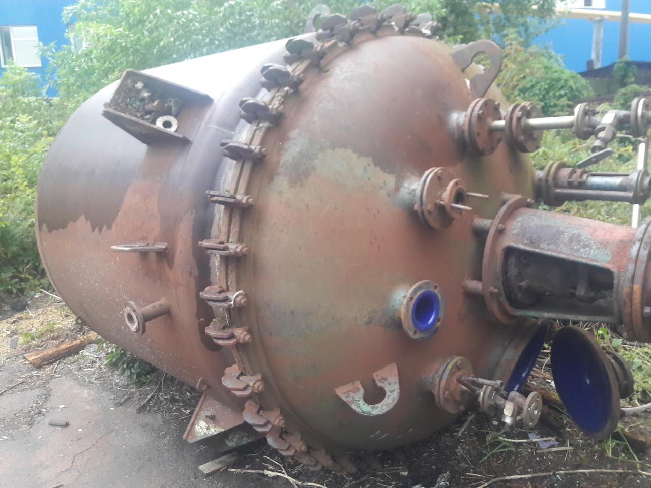 Реактор химический пищевой эмалированный нж
