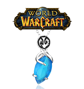 Кулон World of Warcraft Варкрафт символ Орды кемень мира