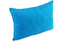 Подушка силиконовая 50х70 голубая Ocean breeze