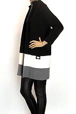 Класичний жіночий кардиган щільної в'язки, фото 2