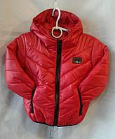 Куртка детская р. 92-116, красный