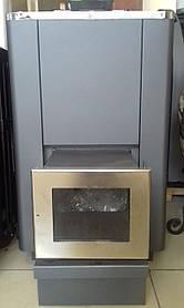 Печь для бани Pal PK-16 SL Выносная топка, стеклянная дверь