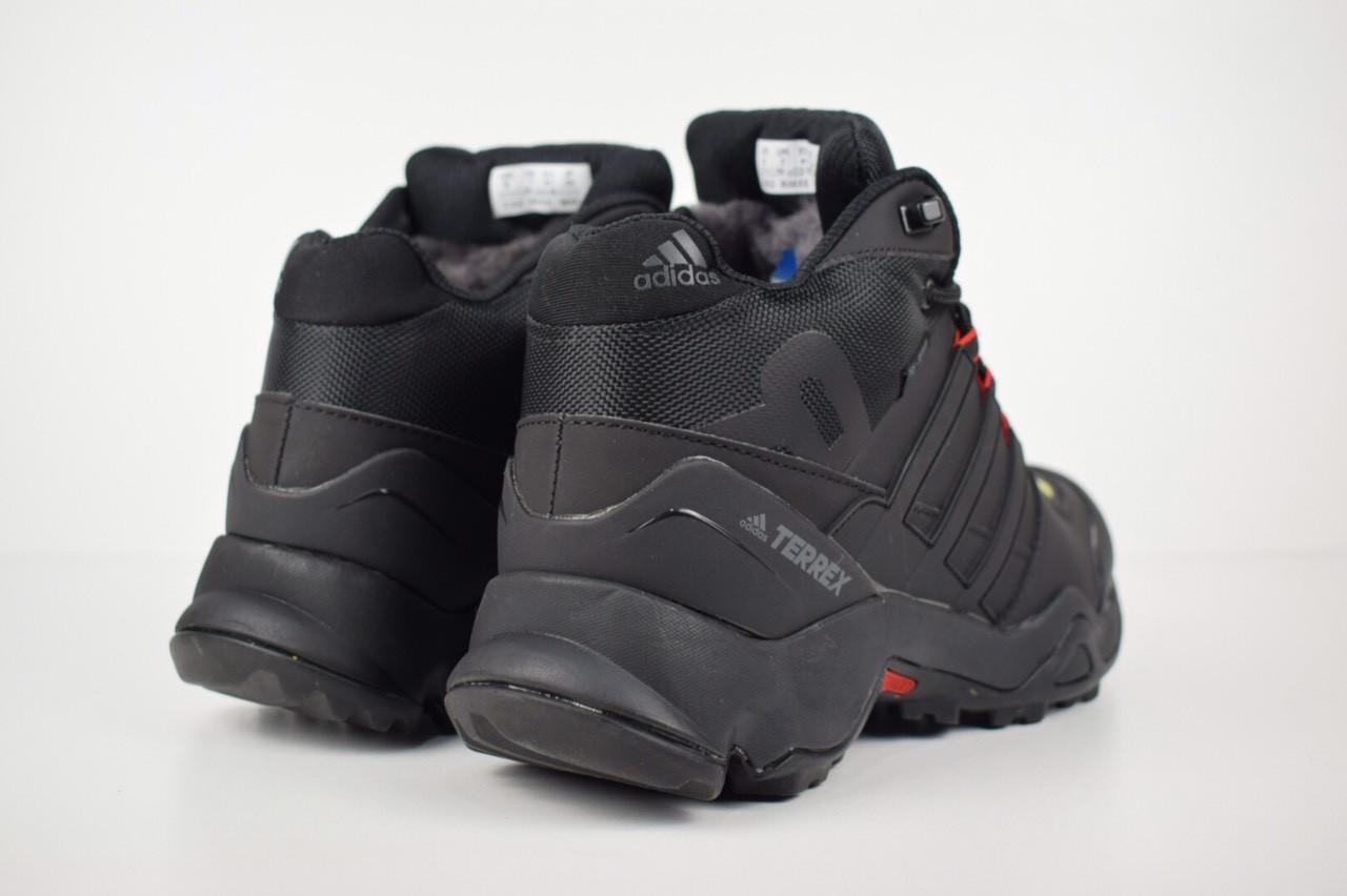 191c5713 ... Зимние Кроссовки Мужские Adidas Terrex 465 черные/красные петли 3201,  ...