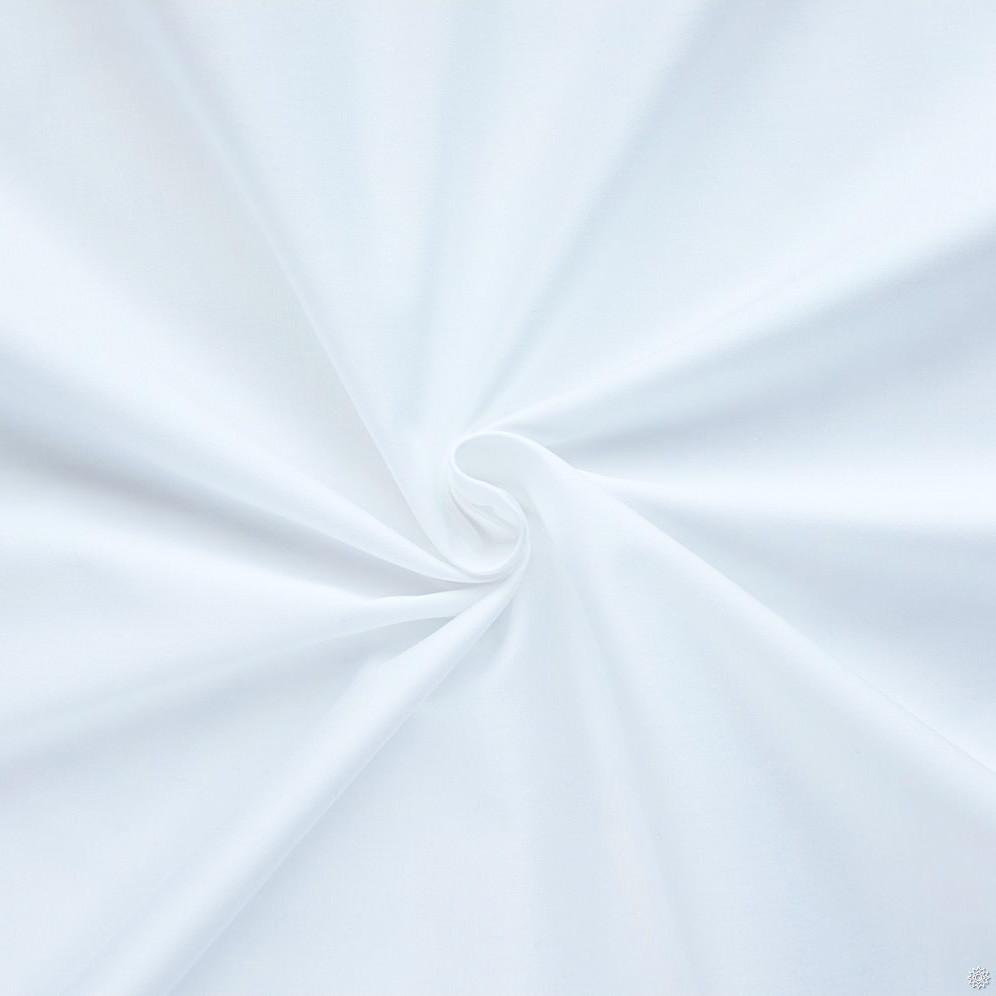 Сатин 240 см Белый 100% хлопок премиум