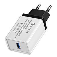 Сетевое зарядное устройство XOKO QC-100 1 USB, Qualcom 3.0, 3.5A Black