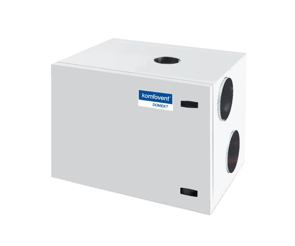 Енергоефективна та низькошумна  вентиляційна установка Komfovent  Domekt R 500 H з роторним рекуператором