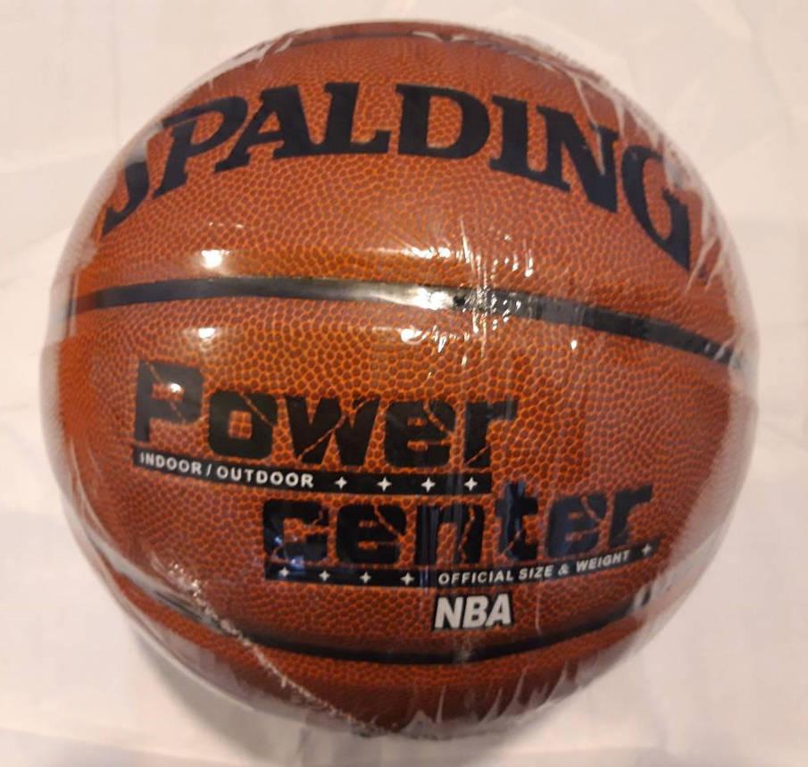 Мяч баскетбольный Spalding NBA  POWER CENTER Реплика, фото 2