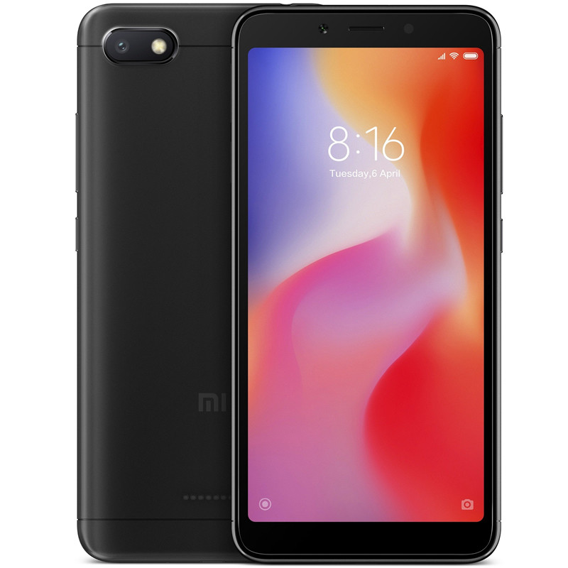 Cмартфон Xiaomi Redmi 6A Global Version (2/16GB)