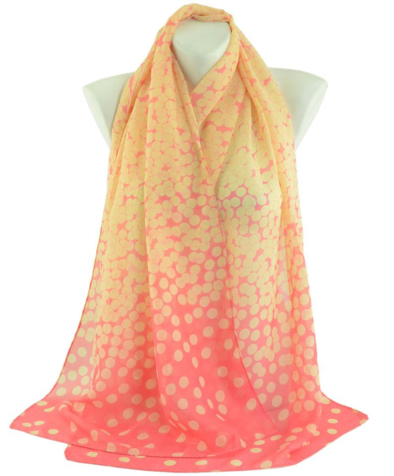 Жіночий шарф Traum 2497-62 50х150 см малиновий
