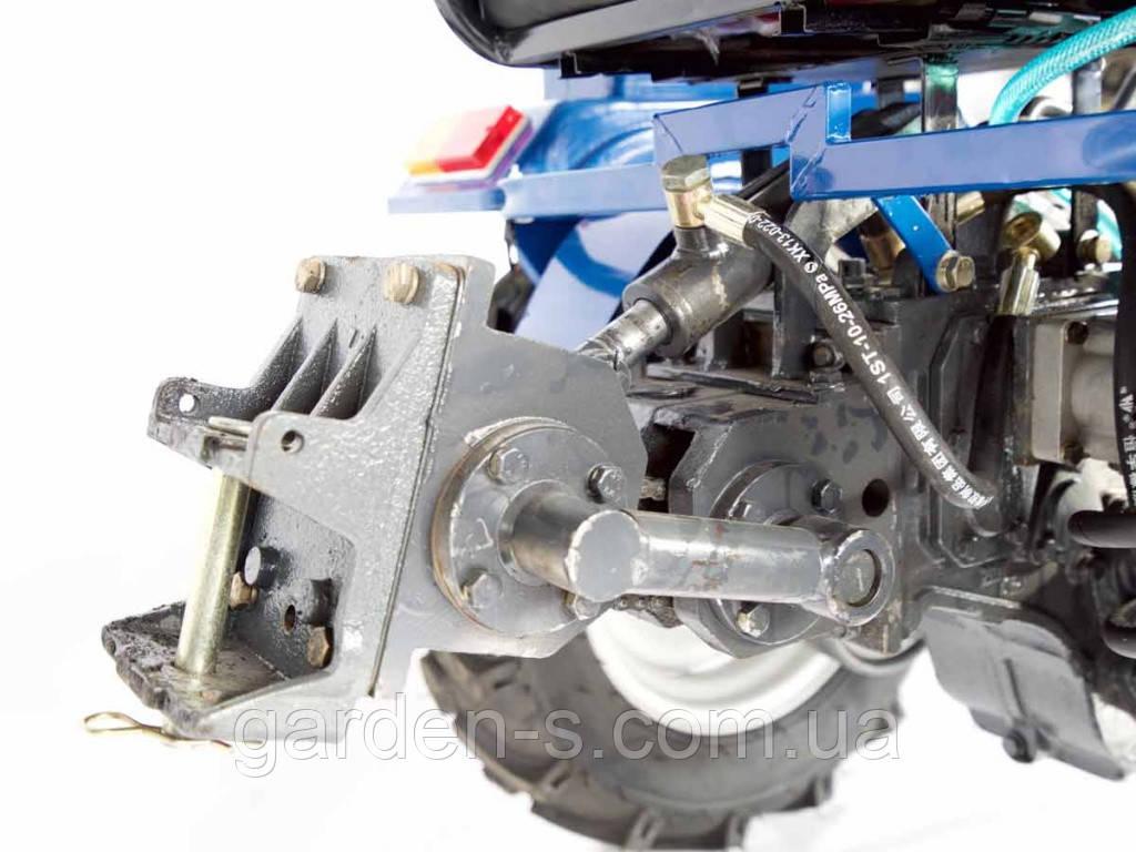 Подъемный механизм на мототрактор
