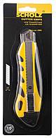 Нож трафаретный 18мм SOZ 4501 метал