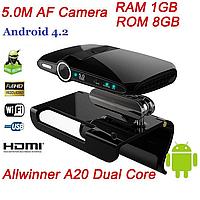 Android TV BOX Z22 II двухъядерный процессор Mini PC с камерой 5 Мп и микрофоном