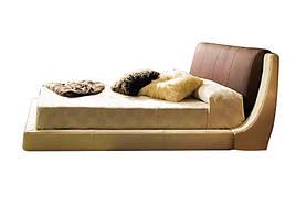 Ліжко з м'якою спинкою з підйомним механізмом Дубаі (160 х 200) КІМ