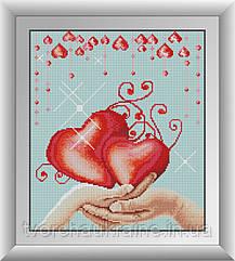 Любовь. Набор алмазной живописи (квадратные, полная)