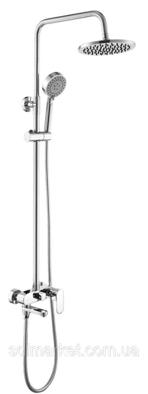Душевая система DS0010 Prizma GLOBUS Lux с изливом