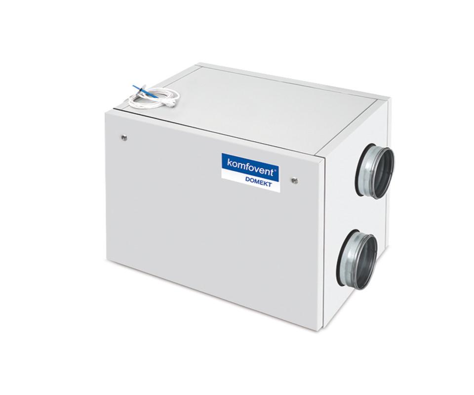 Енергоефективна та низькошумна  вентиляційна установка Komfovent  Domekt R 700 H з роторним рекуператором