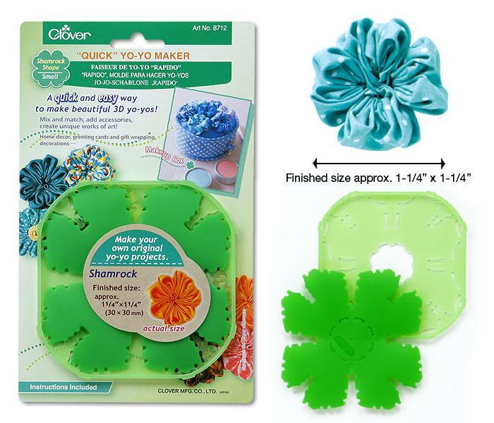 Устройство Clover 8712 для изготовления цветков Yo-Yo маленькое