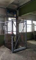 Складской электрический грузовой подъёмник-лифт г/п 500 кг. Подъёмники -Лифты складские под заказ. Монтаж .., фото 2