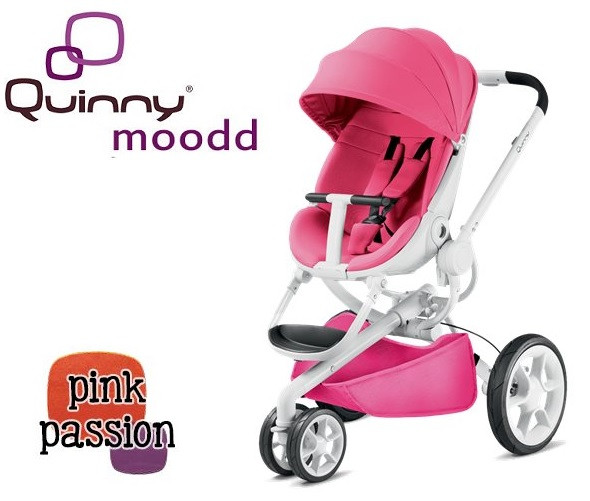 Прогулянкова коляска Quinny Moodd PINK PASSION