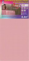 Полистирольная подложка Солид 1,8 мм (8,4 кв.м.) гармошка на теплый пол