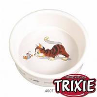 Trixie (Трикси)  Миска керамическая для котов и кошек 0,2 л / 11,5 см