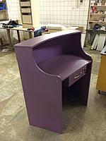 Ресепшн фиолетовый, фото 1