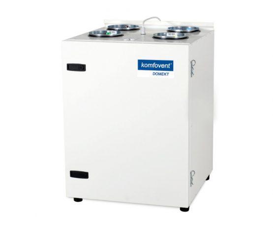Енергоефективна та низькошумна  вентиляційна установка Komfovent  Domekt CF 400 V з пластинчатим рекуператором