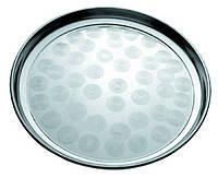 Піднос металевий круглий для офіціанта Ø 45 см