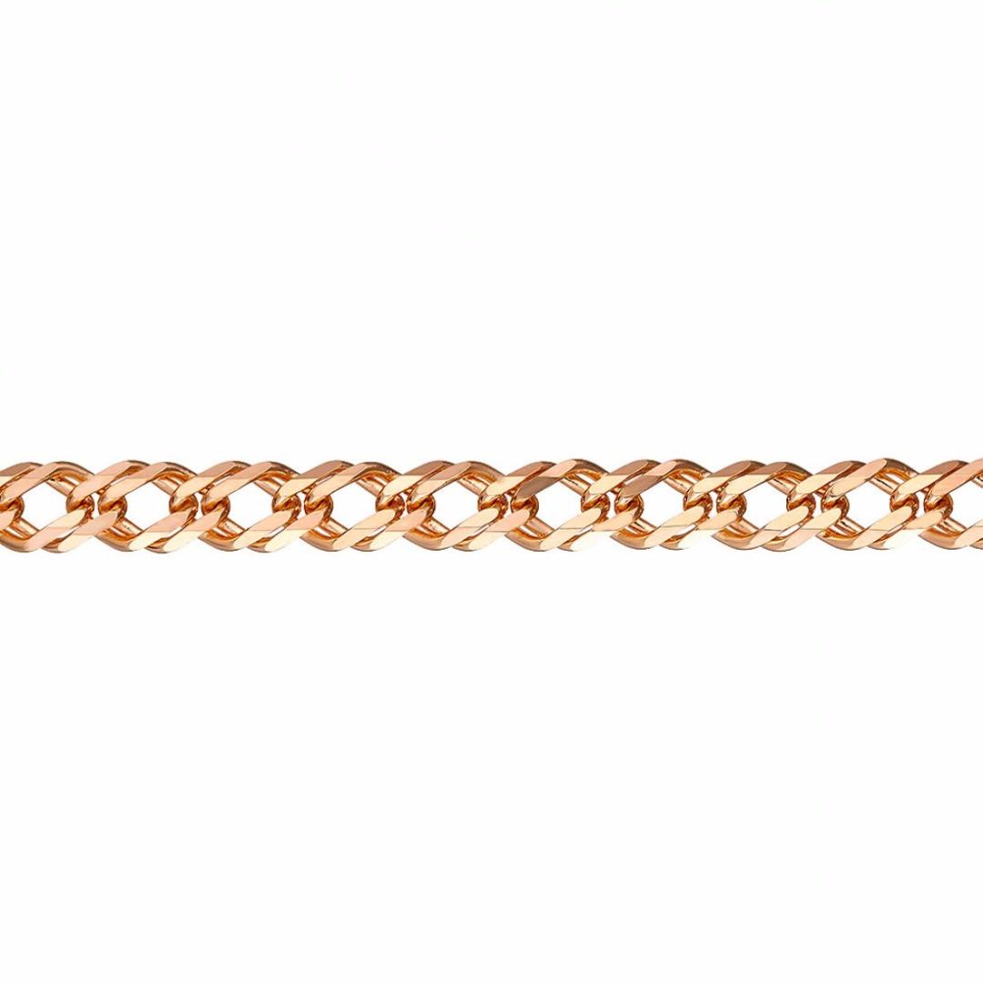 Золотая цепочка ДВОЙНОЙ РОМБ 3 мм, размер 45 см