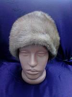 Меховая шапка из норки норковая шапка натуральная норка, фото 1