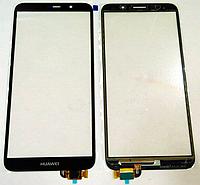 Оригинальный тачскрин / сенсор (сенсорное стекло) Huawei Y5 2018   Y5 Prime 2018   Honor 7S   Honor 7A черный