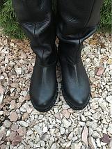 Чорні зимові чоботи з натуральної шкіри 36-40 р, фото 2