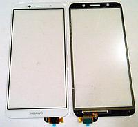 Оригинальный тачскрин / сенсор (сенсорное стекло) Huawei Y5 2018   Y5 Prime 2018   Honor 7S   Honor 7A белый