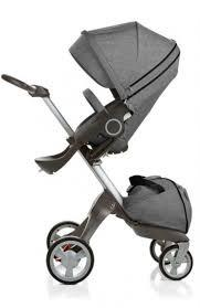 Детская коляска DSLandXplory V6 Gray (Серая) Аналог Stokke Прогулочный блок