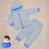 Теплий комплект з вушками для немовлят р.62-68  Комплект для младенцев 3 fb68926a9d76a
