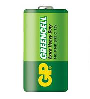 Батарейка солевая GP 14G-S2 Greencell R14 C (трей)