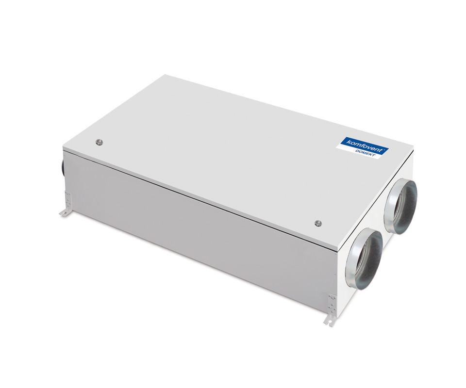 Енергоефективна та низькошумна  вентиляційна установка Komfovent  Domekt CF 250 F з пластинчатим рекуператором