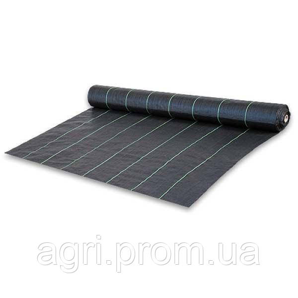 Агроткань против сорняков, черная, UV, 70 гр/м² размер 0,8 х 100м