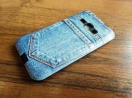 Чехол Remax Cover Fashion Jeans Shok для Samsung Galaxy J1 2016 J120