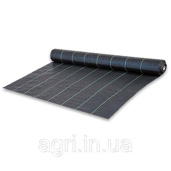 Агроткань против сорняков, черная, UV, 70 гр/м² размер 0,4 х 100м